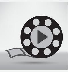 video reel vector image