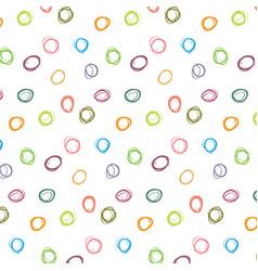 abstract colorful polka dot pattern vector image