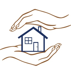 protect home vector image