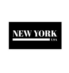 new york city ny t-shirt print design and vector image