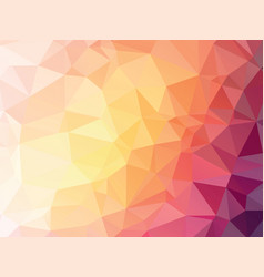 abstract yellow pink violet pastel geometric vector image