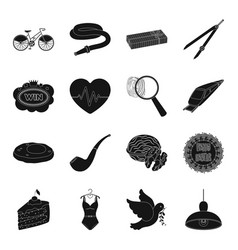 Crime food cottage tool and other web icon in vector
