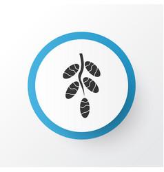 dates icon symbol premium quality isolated fruit vector image