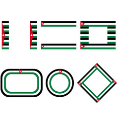 Flags jordan with copy space vector