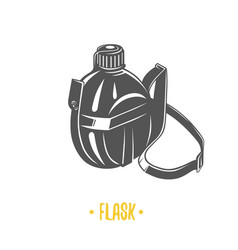 flask vector image