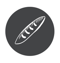 Hand drawn fast food sticker blackboard icon with vector
