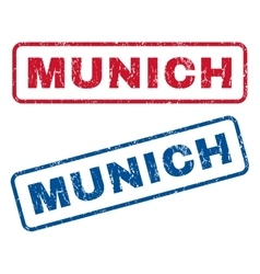 Munich Rubber Stamps vector