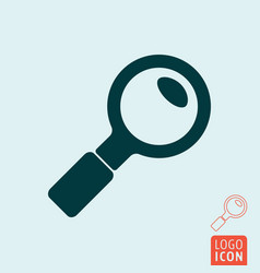 search icon isolated vector image