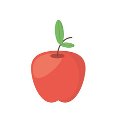 Apple food healthy image vector