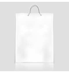Bag template mockup vector