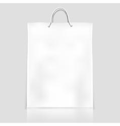 Bag template mockup vector