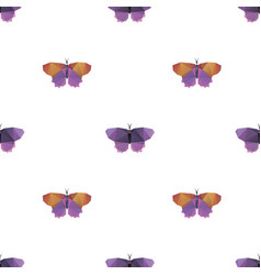 butterfly triangle seamless pattern backgrounds vector image