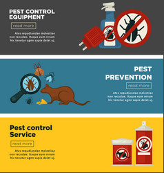 Extermination or sanitary pest control vector