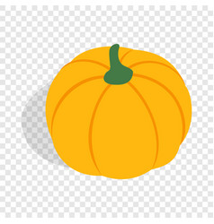 Pumpkin isometric icon vector