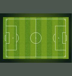 soccer field european football stadium court for vector image