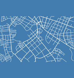 street map of town vector image