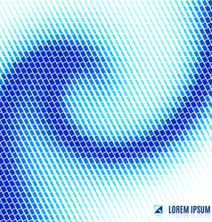 abstract blue water background with spiral vortex vector image vector image