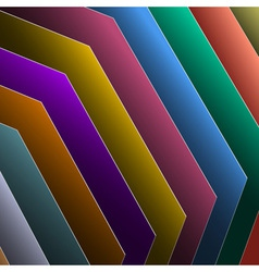 colorful paper vector image
