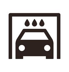 Car wash icon vector image vector image
