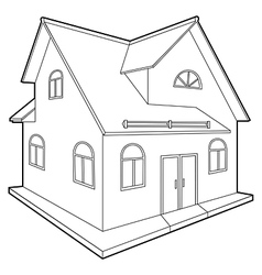 cottage vector image vector image