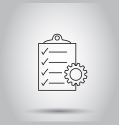 document icon on isolated background business vector image vector image