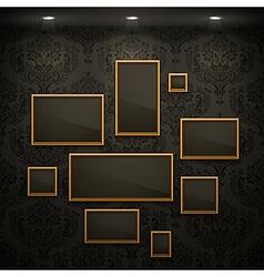 random frames vector image vector image