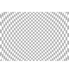 Spherical Checkered Background vector image vector image