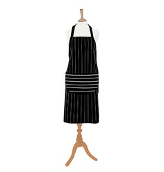 apron on mannequin vector image