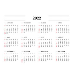 Calendar template for 2021 year stationery design vector