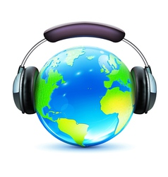 global music concept vector image