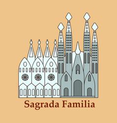 May 15 2014 a of la sagrada familia - the vector