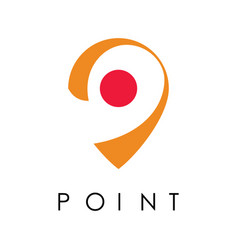 point logo vector image