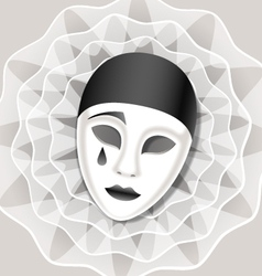 Sad mask vector