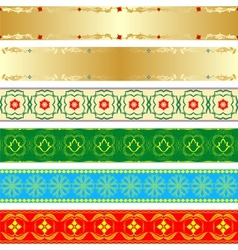 Seamless patterns-2 vector image
