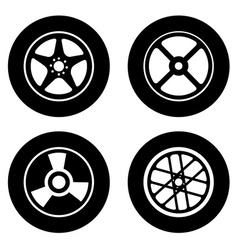 Tire design vector
