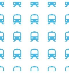 Unique Train seamless pattern vector image