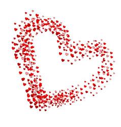 heart hearts shape vector image
