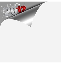 new year numbers vector image