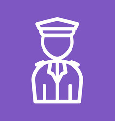 Airport security vector