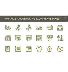 Finance and banking iconfinance and banking icon vector