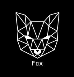 head fox vector image