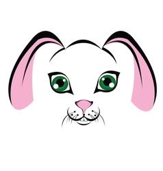 Muzzle-bunny vector