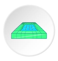 Pool icon cartoon style vector image