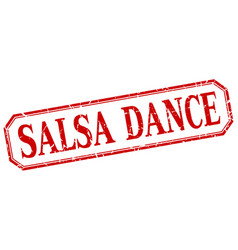 Salsa dance vector