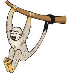 Small monkey vector