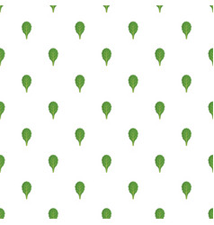 spinach pattern seamless vector image