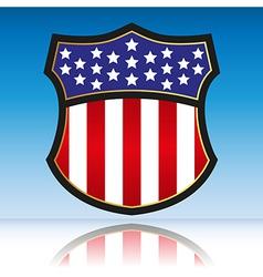 American vector image