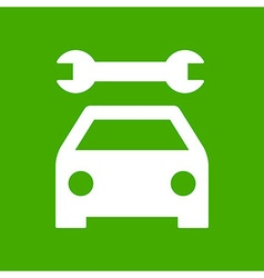Car service icon vector image vector image