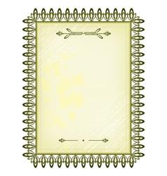 Banner frame vector