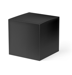 Black box vector image
